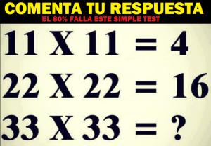 test matematico
